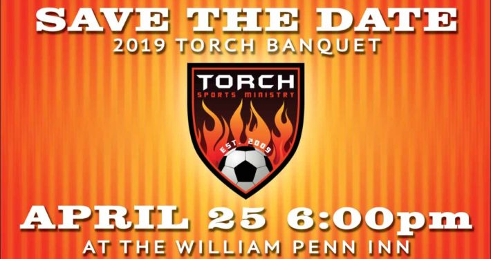 save the date torch banquet