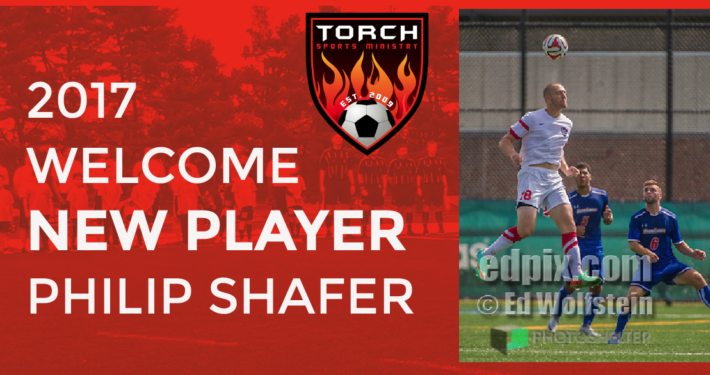 Philip Shafer Welcome 2017 BuxMont Torch FC